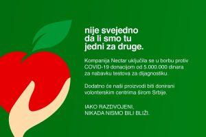 Nije svejedno donacija COVID-19
